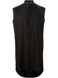 Hraun By Cedric Jacquemyn Sleeveless Long Shirt