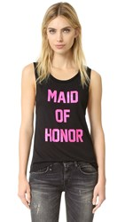 Private Party Maid Of Honor Tank Black
