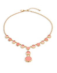 Kate Spade Punchy Petals Statement Necklace Coral