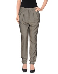 Only Trousers Casual Trousers Women Grey