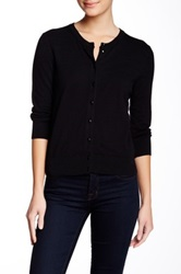 Cable And Gauge Jackie O Cardigan Black
