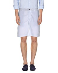 Cesare Paciotti 4Us Trousers Bermuda Shorts Men White