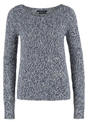 Marc O'polo Jumper Mottled Dark Blue