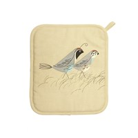 Magpie Game Birdy Pot Holder Quail