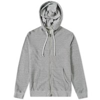 Save Khaki French Terry Zip Hoody Grey