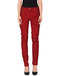 Juicy Couture Casual Pants Red