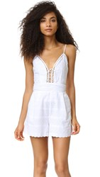 Bec And Bridge Cassidy Romper White