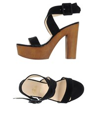 Le Stelle Footwear Sandals Women Black