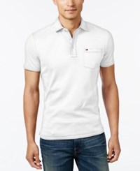 Tommy Hilfiger Men's Jake Tipped Polo Bright White