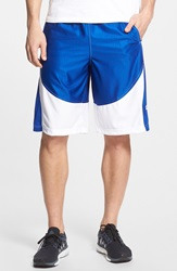 Under Armour 'Mo Money' Knit Basketball Shorts Royal Blue White White