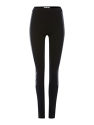 Vero Moda Pu Leggings Black