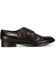 Silvano Sassetti Derby Shoes Brown