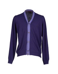 Brooks Brothers Knitwear Cardigans Men Purple
