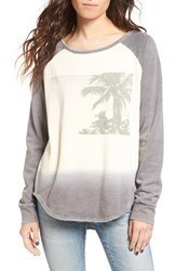 Rip Curl Women's Desert Palm Graphic Raglan Tee