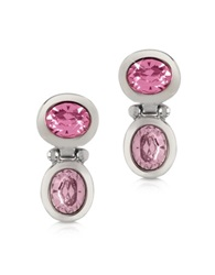 Forzieri Pink Crystal Earrings