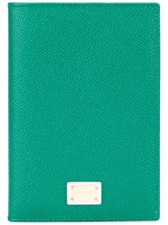 Dolce And Gabbana 'Dauphine' Passport Holder Green