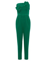Coast Delta Bandeau Jumpsuit Green
