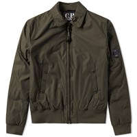 C.P. Company Arm Lens Flight Jacket Green