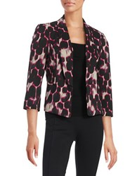 Nipon Boutique Dotted Blazer Geranium