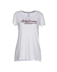 Helly Hansen T Shirts White