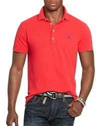 Polo Ralph Lauren Featherweight Mesh Regular Fit Polo Shirt 100 Bloomingdale's Exclusive Pandora Red