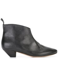 Marsell Almond Toe Boots Black