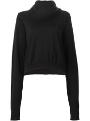 Isabel Benenato Roll Neck Sweater Black