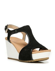 Dr. Scholl's Original Collection Wiley Wedge Sandals Black