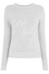 Oasis Tres Lovely Knit Grey