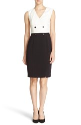 Ted Baker Women's London 'Leotaad' Double Breasted Tuxedo Dress