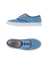 Roda At The Beach Low Tops And Trainers Pastel Blue