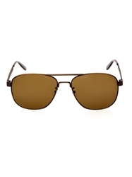 Bottega Veneta Intrecciato Etched Aviator Style Sunglasses