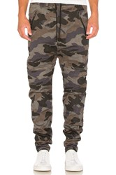 I Love Ugly Zespy Camo Pant Black