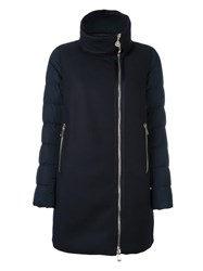 Moncler 'Aglaia' Padded Coat Blue