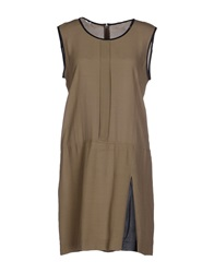 Gas Jeans Gas Short Dresses Khaki