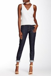 Genetic Denim Stem Mid Rise Skinny Jean Blue