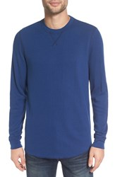 The Rail Men's Thermal Long Sleeve T Shirt Blue Estate
