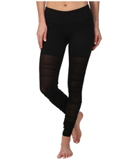 Alo Yoga Mesh Goddess Legging Black Women's Workout
