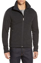 Men's Nau 'Randygoat' Zip Front Fleece Jacket Zinc Heather