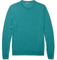 Bottega Veneta Merino Wool Sweater Blue