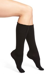 Women's Nordstrom Merino Wool Blend Socks Black
