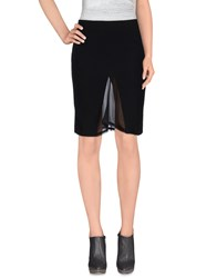 Richmond X Skirts Knee Length Skirts Women Black