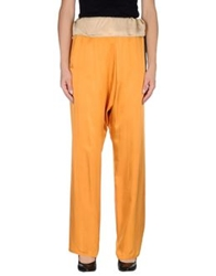 Hoss Intropia Casual Pants Ocher