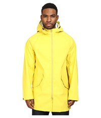 Converse Rubber Fishtail Parka Bitter Lemon Men's Coat Yellow