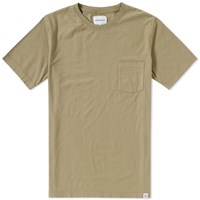 Norse Projects Niels Pocket Boucle Tee Green