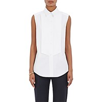 Pallas Women's Bib Front Shirt White