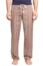 Men's Paul Smith Stripe Cotton Lounge Pants Brown