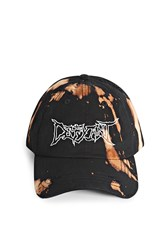 Forever 21 Defyant Distressed Cap Black