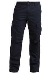 Carhartt Columbia Cargo Trousers Duke Blue Rinsed Dark Blue