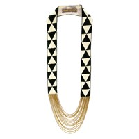Fiona Paxton Louise Black And Cream Necklace